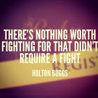 Fight for worthy causes