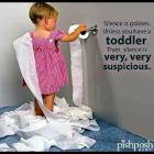 Suspicious Toddler